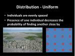 distribution uniform