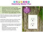 electricity master plan