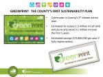 greenprint the county s first sustainability plan