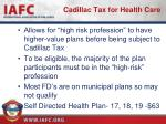 cadillac tax for health care1