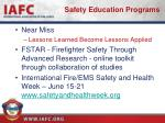 safety education programs