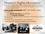 women s rights movement