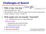 challenges of search1