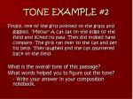 tone example 2
