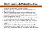 efek penuaan pada m etabolisme obat