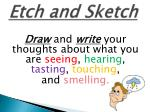 etch and sketch