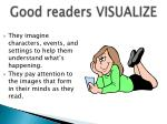 good readers visualize