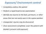 exposure environment control