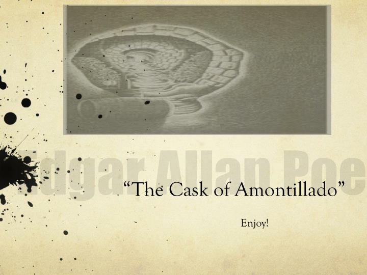 archetype the cask of amontillado