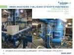 omanik investeerib 17 milj eurot ettev tte p stmiseks 5 miljonit eurot pakkepressi ja liini 2013