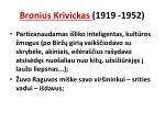 bronius krivickas 1919 19521