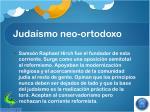 juda smo neo ortodoxo