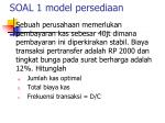 soal 1 model persediaan