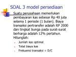 soal 3 model persediaan