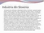 industria din slovenia