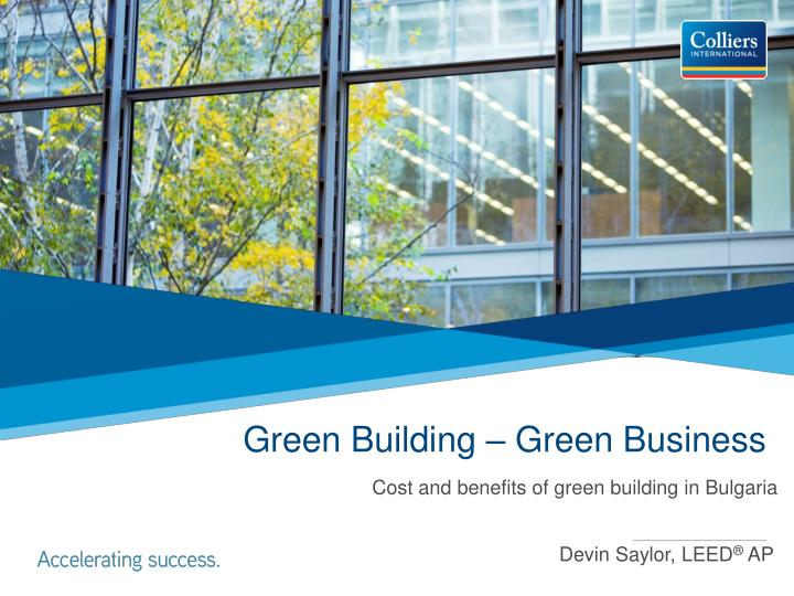 green building green business n.