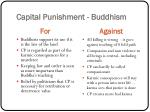 capital punishment buddhism