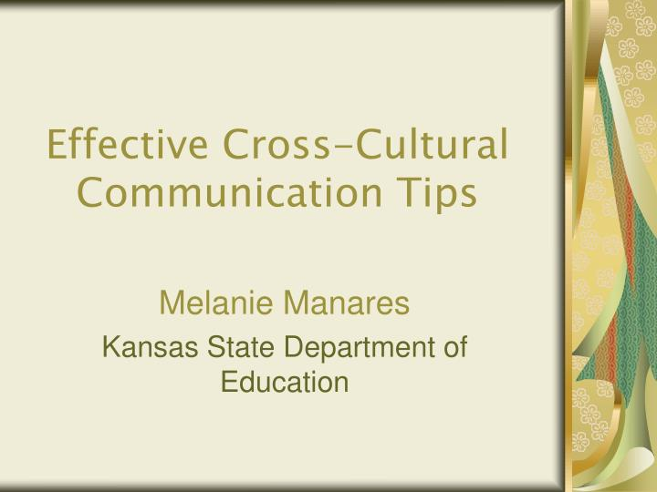 effective cross cultural communication tips
