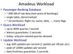 amadeus workload