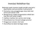 investasi kelebihan kas