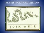 the first political cartoon