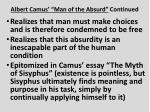 albert camus man of the absurd continued2