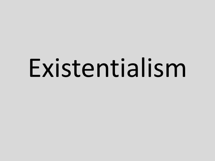 existentialism does life have meaning essay Does life have a meaning an existential philosopher  philosophy talk relies on the support of listeners like you to stay on the air and online.