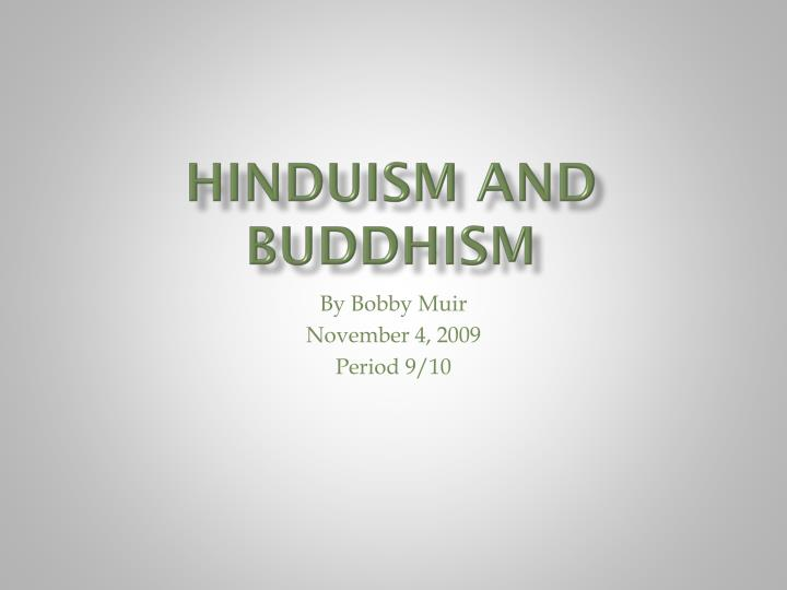 hinduism and buddhism n.