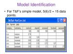 model identification1