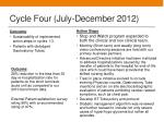 cycle four july december 2012