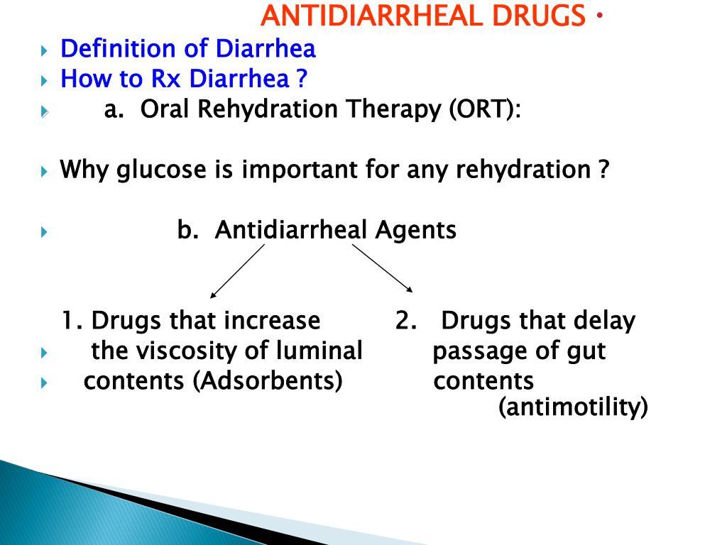 ppt - antidiarrheal drugs definition of diarrhea how to rx diarrhea