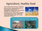 agriculture healthy food