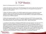 3 tcp basics