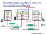 demultiplexa o orientada a conex es servidor web com threads