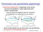 protocolos com paralelismo pipelining