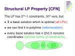 structural lp property cfn