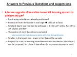 answers to previous questions and suggestions2