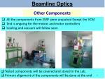 beamline optics14