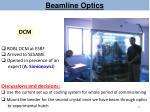 beamline optics8