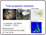 time projection chamber