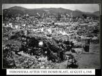hiroshima after the bomb blast august 6 19451