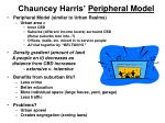 chauncey harris peripheral model
