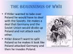 the beginnings of wwii1