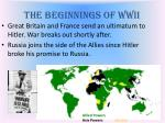 the beginnings of wwii2