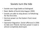 soviets turn the tide