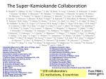 the super kamiokande collaboration