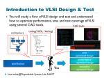 introduction to vlsi design test