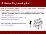 software engineering lab
