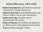 allied offensives 1943 1945