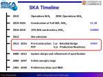 ska timeline